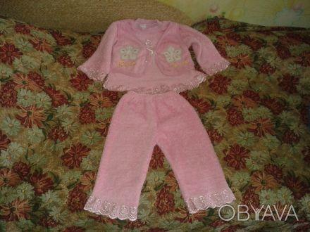 красивый детский костюм на принцессу,нежного розового цвета.низ ажурный,на кофто. Житомир, Житомирская область. фото 1