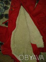 Детский зимний комбинезон на овчине с капюшоном.Удобная конструкция комбинезона . Житомир, Житомирская область. фото 4