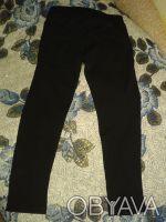 БРЮЧКИ на девочку черного цвета,карманы обманки.сверху пояс,прямые,длина 65 см,т. Житомир, Житомирская область. фото 3