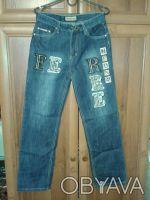красивый джинсовый костюм.длина брюк 100 см,размер 30.обхват талии 72 см,бедра 8. Житомир, Житомирська область. фото 4