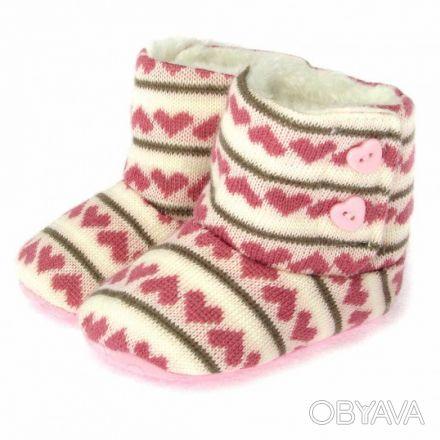 Очень милые теплые пинетки для девочки, не оставят равнодушным никого! Утепленн. Сумы, Сумская область. фото 1
