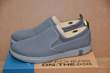 Мужские слипоны,мокасины,туфли,кроссовки Skechers Glide 2.0 Ultra р.45. Бровары. фото 1
