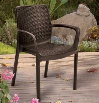 """"""" Садовый стул Bali Mono Allibert, Keter, Curver """"  Усядьтесь поудобнее и расс. Ужгород, Закарпатская область. фото 3"""