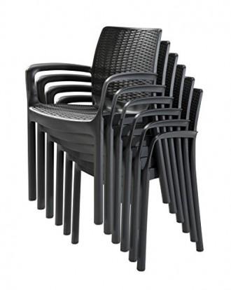 """"""" Садовый стул Bali Mono Allibert, Keter, Curver """"  Усядьтесь поудобнее и расс. Ужгород, Закарпатская область. фото 6"""