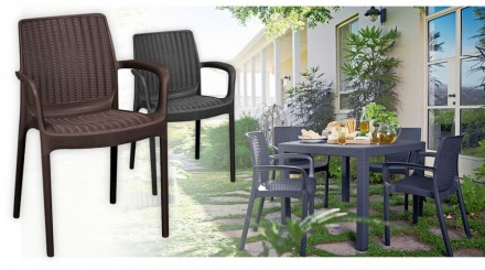 """"""" Садовый стул Bali Mono Allibert, Keter, Curver """"  Усядьтесь поудобнее и расс. Ужгород, Закарпатская область. фото 11"""