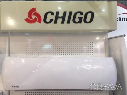 Кондиционер Chigo LOTUS-CS-25V3A-V INVERTER это современная  сплит система работ. Кривой Рог, Днепропетровская область. фото 1