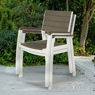 """"""" Садовый стул Harmony Armchair Allibert, Keter, Curver """"  Усядьтесь поудобнее. Ужгород, Закарпатская область. фото 1"""