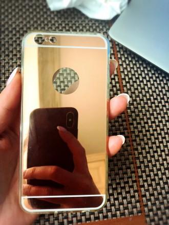 Чехол для iPhone 6/ iPhone 7 Зеркальный! Очень красивый зеркальный. Киев. фото 1