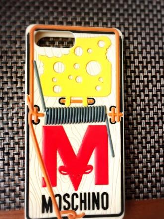 Силиконовый чехол на айфон- Moschino iPhone 6 plus/ iPhone 7. Киев. фото 1