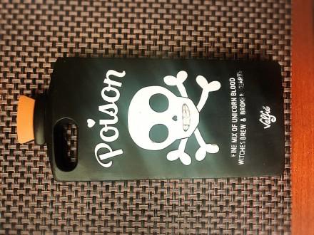Силиконовый чехол iPhone 6 plus/iPhone 7 Plus в форме бутылки Poison. Киев. фото 1