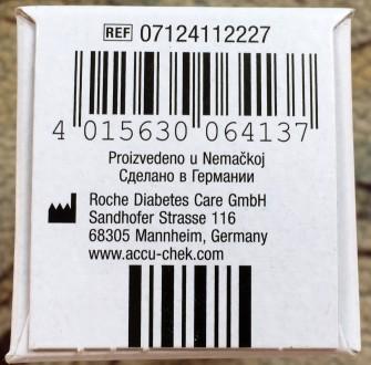 Глюкометр Accu-Chtk (Германия) б/у в комплекте: заводская упаковка, прибор, нова. Чернигов, Черниговская область. фото 6