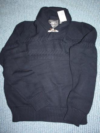 Пуловер logg knit (h@m)l демисезон, темно синий новый. Киев. фото 1