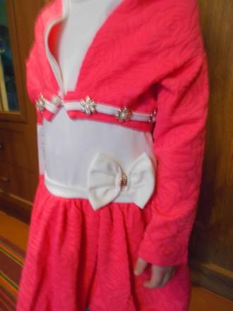 Нарядное платье на 4 - 5 лет новое дешево 349 грн. Чернигов. фото 1