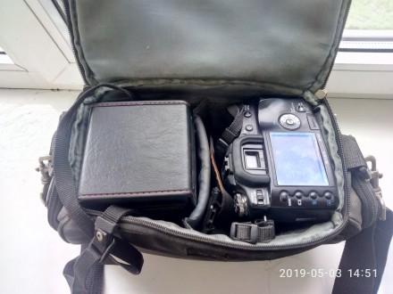 Продаю, меняю комплект Sony DSLR-A100+телевик+вспышка. Днепр. фото 1