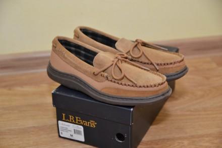 Мокасины, туфли из натуральной кожи р.41 L.B. Evans. Бровары. фото 1