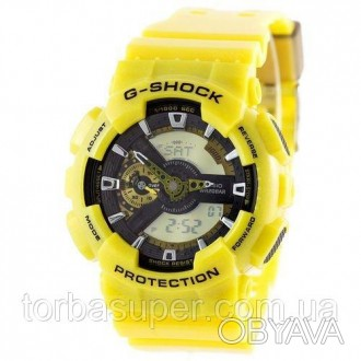 Casio G-Shoсk GA 110 Yellow-Black