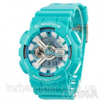 Casio G-Shock AAA GA-110 Azure-White