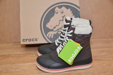 Зимние сапоги Crocs AllCast Waterproof Duck Boot р.W7,W8. Бровары. фото 1