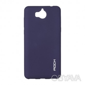 Чехол Rock Matte Series for Huawei Y6 Pro Blue (00000055547)