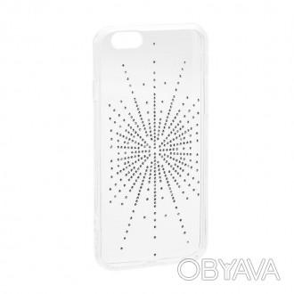 Чехол Diamond Silicone сделан из высококачественного материала, с декорированно. Киев, Киевская область. фото 1