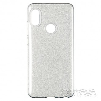 Чехол Remax Glitter Silicon Case для Huawei Y6 2018 Silver (00000067464)