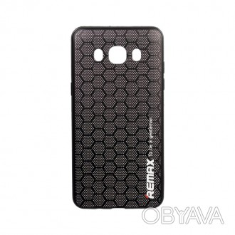 Чехол Remax Gentleman Series для Huawei Y6 II Honeycomb Black (00000051263)