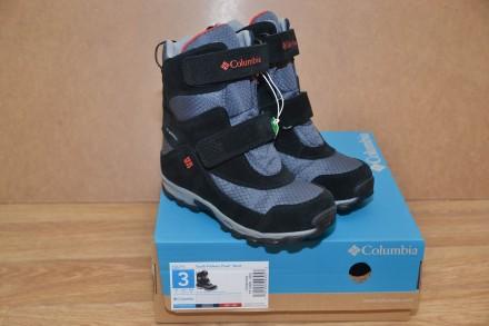 Зимние сапоги Columbia Parkers Peak Velcro р.34. Бровари. фото 1