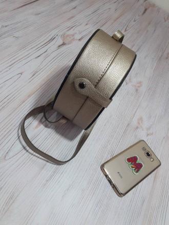 Отличная женская сумочка круглой формы очень популярна в модных тенденциях после. Запорожье, Запорожская область. фото 12