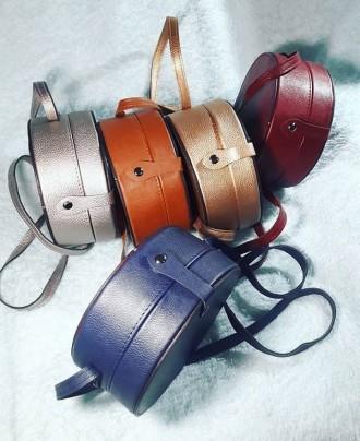 Отличная женская сумочка круглой формы очень популярна в модных тенденциях после. Запорожье, Запорожская область. фото 13