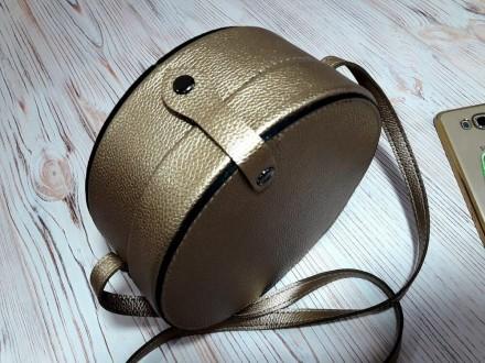 Отличная женская сумочка круглой формы очень популярна в модных тенденциях после. Запорожье, Запорожская область. фото 11