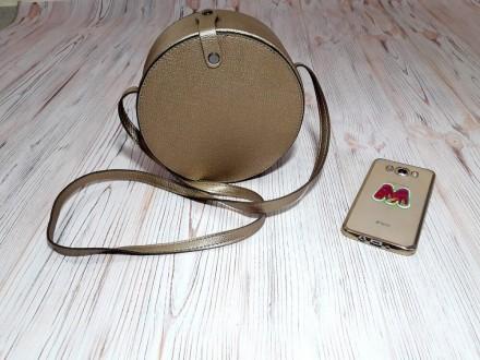 Отличная женская сумочка круглой формы очень популярна в модных тенденциях после. Запорожье, Запорожская область. фото 8