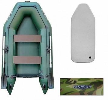 Пайол Air-deck для надувных гребных лодок К-280СТ (сумка, профиль, насос). Киев. фото 1