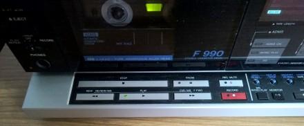 Кассетная дека (магнитофон) AIWA AD-F990E (модель 1986 г., изготовлена в Японии). Харьков, Харьковская область. фото 9