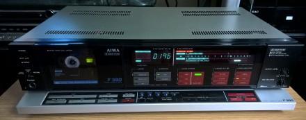 Кассетная дека (магнитофон) AIWA AD-F990E (модель 1986 г., изготовлена в Японии). Харьков, Харьковская область. фото 4
