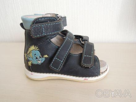 Продам ортопедические босоножки/сандали с пронатором (нам назначил ортопед при в. Сумы, Сумская область. фото 1