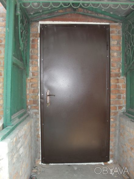 двери входные металл с двух сторон