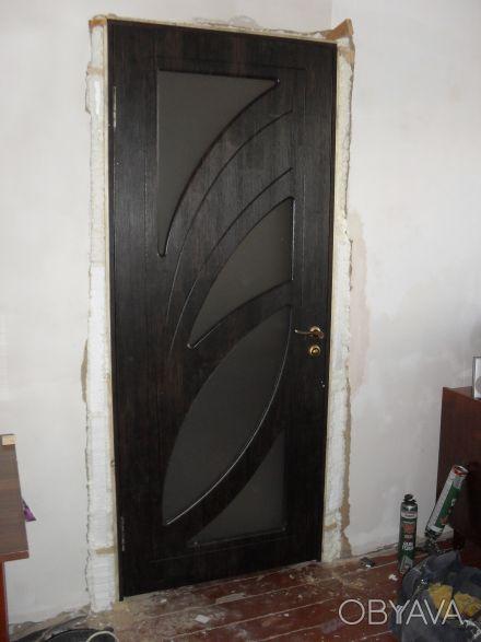 Межкомнатная дверь, межкомнатную дверь, установить двери