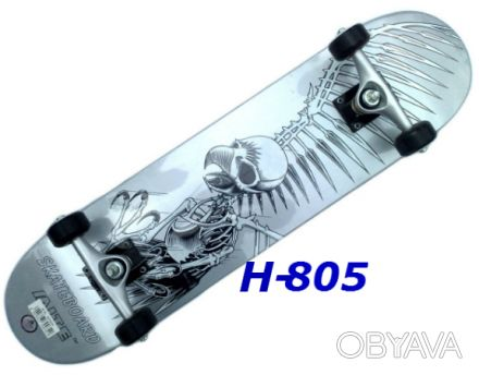 """Скейт H-805 скейтборд skate board - 9 слоев из Канадского клёна - размер: 31""""х. Киев, Киевская область. фото 1"""