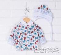 Распродажа - Комплект для новорожденного кофта, ползунки, шапочка от Baby Art к. Київ. фото 1