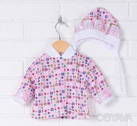Распродажа - Комплект для новорожденного кофта, ползунки, шапочка от Baby Art ко. Киев, Киевская область. фото 1