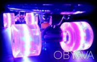 Скейт penny 22-SL skate board fish cruiser пенни 56см светящиеся колеса Размер:. Киев, Киевская область. фото 5