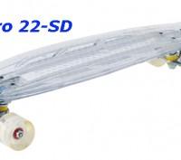 Скейт Penny Board 22-SD прозрачная светящаяся дека пенни лонгборд Cruiser Fish L. Киев, Киевская область. фото 6