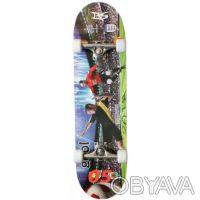 Скейт W-4001 скейтборд skate board Размер 78,5см. х 20,5см. 7 слоев из Китайск. Киев, Киевская область. фото 7