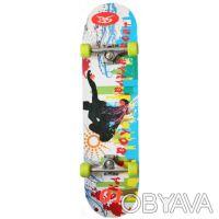 Скейт W-4001 скейтборд skate board Размер 78,5см. х 20,5см. 7 слоев из Китайск. Киев, Киевская область. фото 2