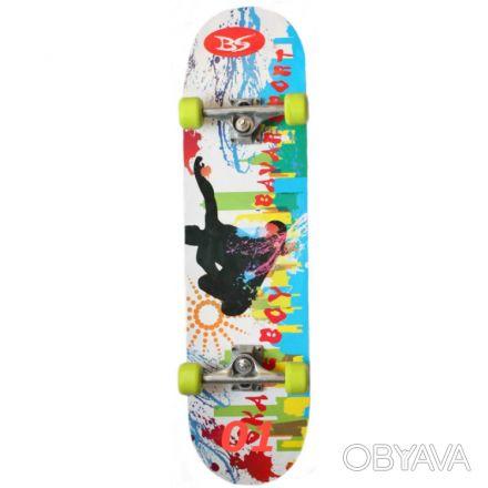 Скейт W-4001 скейтборд skate board Размер 78,5см. х 20,5см. 7 слоев из Китайск. Киев, Киевская область. фото 1