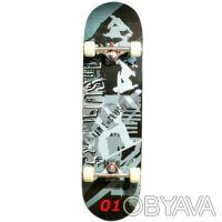 Скейт W-Track Master скейтборд skate board - 8 слоев c клена, 1 бамбуковая прос. Київ, Київська область. фото 2