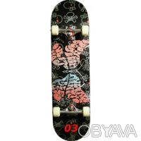 Скейт W-Track Master скейтборд skate board - 8 слоев c клена, 1 бамбуковая прос. Київ, Київська область. фото 4