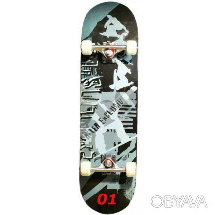 Скейт W-Track Master скейтборд skate board - 8 слоев c клена, 1 бамбуковая прос. Київ, Київська область. фото 1