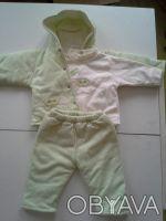 Комплект для мальчика:курточка, штаны, батник. осень-зима. размер 2. Черновцы. фото 1
