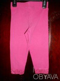 1) Розовые  леггинсы на 4 года,CARTER'S,цена-55гр. размеры:длина-42см.   ПОП-22. Киев, Киевская область. фото 3